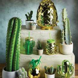 Pineapple Jar Drink Glass Fun Retro Barcraft