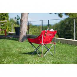 Kickback Camping Chair Red Coleman