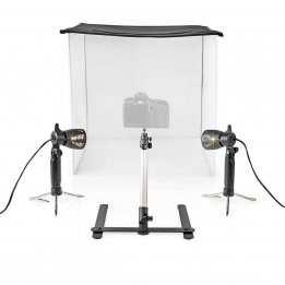 Portable Photo Studio Kit 60x60x60 Nedis