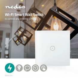 Smart LED Bulb Wifi Single Wall Switch Nedis