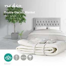Warm Blanket Winter Electrical Double Nedis 140 160