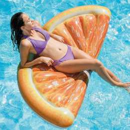 Airbed Floating Matrass Summer Beach Intex Orange