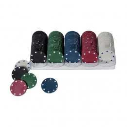 Poker Chips 100 pieces Longfield Games