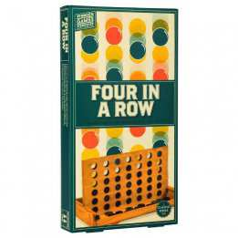 Four in Row Wooden boardgame Professor Puzzle