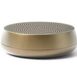 Bluetooth Speaker Small Handy Lexon Design Gold