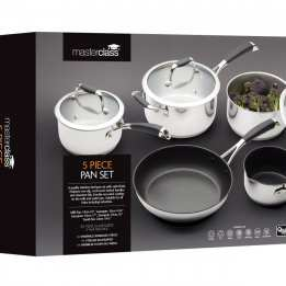 Cookware Set Five pans MasterClass
