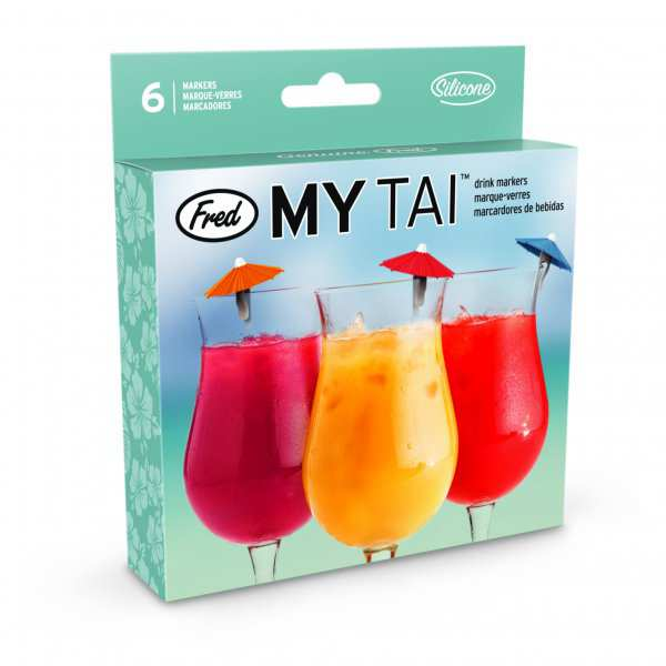 Drink Cocktail Markers My Tai Fred & Friends