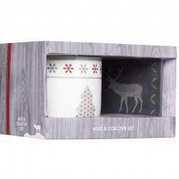 Christmas Mug Coaster We Love Christmas KitchenCraft