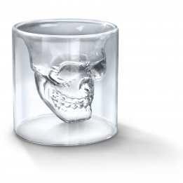 Crystal Skull Shot Glass Fred Friends