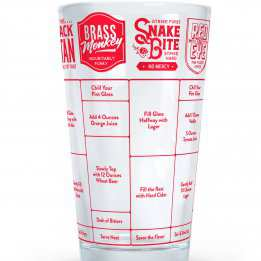 Beer Glass Recipe Glass Good Measure Fred Friends