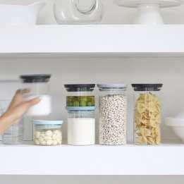 Storage Kitchen Jars Glass Set Brabantia