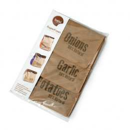 Vegetables Storage Onions Potatoes Fresh Bag Balvi